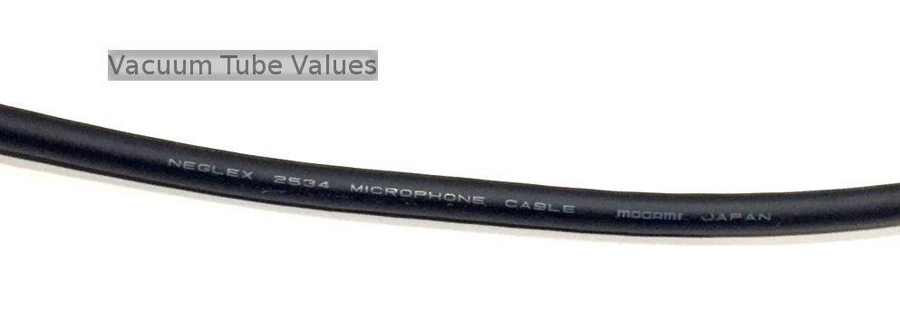 mogami w2534 2534 microphone wire 24ga gold mic wire  per